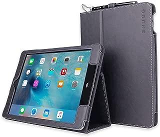 Snugg iPad 9.7 (2018/2017) & iPad Air Case, Riverside Blue Leather Smart Case Cover Apple iPad Air and New iPad 2017 9.7