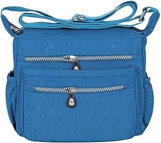 Wiwsi Female Shoulder Bag Women Fashion Nylon Cross Body Messenger Sling Satchel