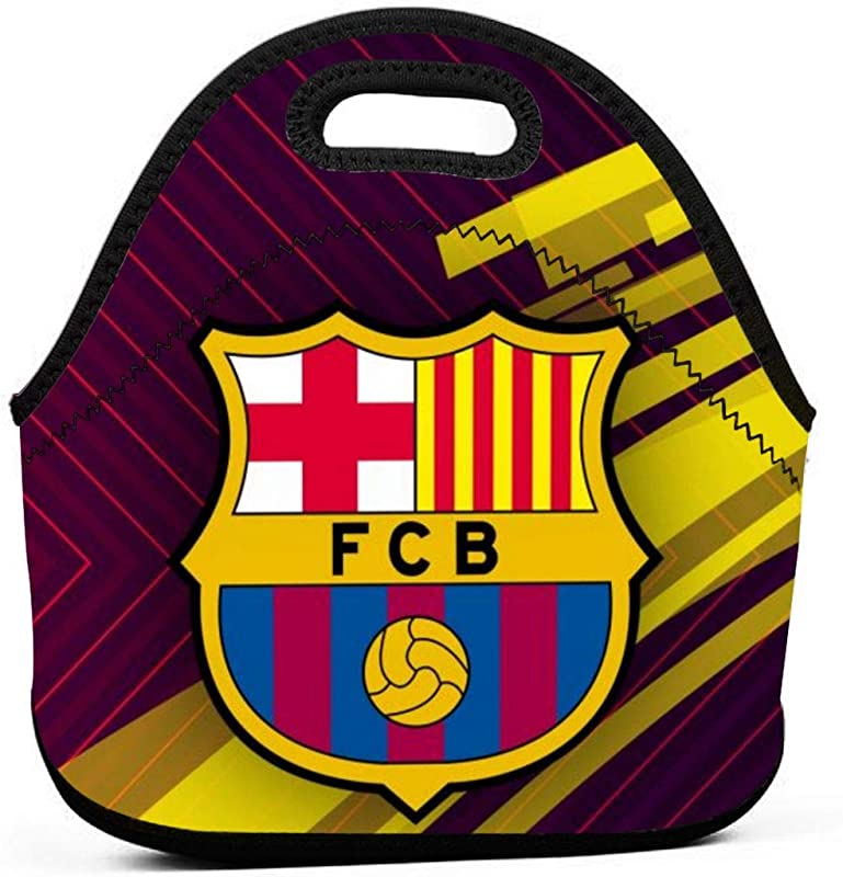 Fresh Fc Barcelona Lunch Bag Insulated Tote Handbag Lunchbox Food Container Tote Warm Pouch