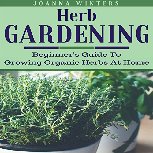 Herb Gardening audiobook cover art