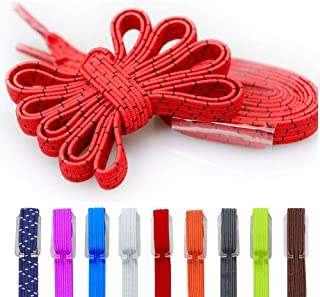 DB No Tie Shoelace Elastic shoelace stretch shoe strings One Size Fits All Adult and Kids