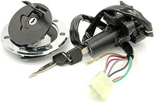 Alpha Rider Ignition Switch Lock Keys Gas Cap Tank Cover For Kawasaki Ninja ZX-9R ZX900 1994 - 1999 / Ninja ZX-7R Z750 ZZR400 1993 - 2006 / ZZR600 1993 - 2004 / ZXR400 ZXR750 1991 - 1994