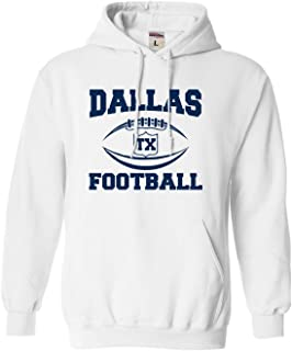 Go All Out Adult and Youth City of Dallas Texas Football Sweatshirt Hoodie