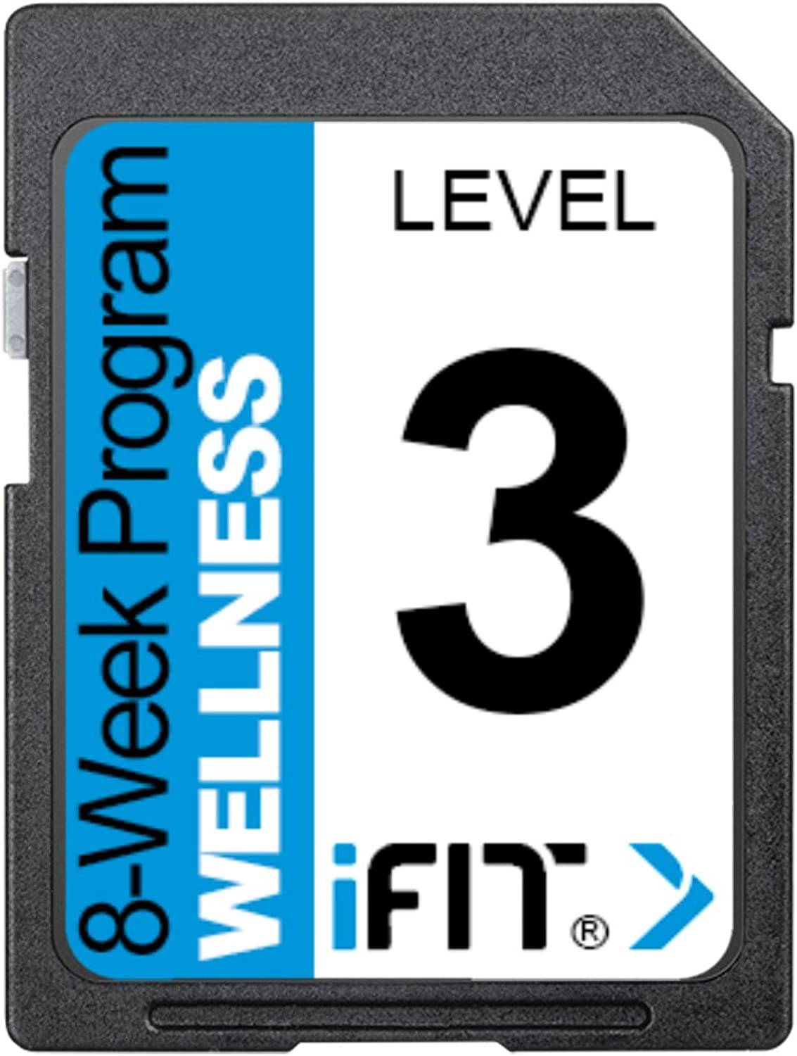 IFIT Exercise Workout SD Card  8Week 'Wellness' Program Level 3
