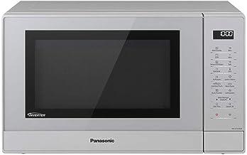 Panasonic NN-GT47KMGPG - Microondas combinadas (1000 W, con grill, microondas inverter, 31 L), color plateado