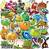 YCYY 100 Plant Big Station Zombie Stickers Car Mobile Phone Cup...