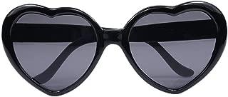 Women Fashion Oversized Heart Shaped Retro Sunglasses Cute Eyewear UV400