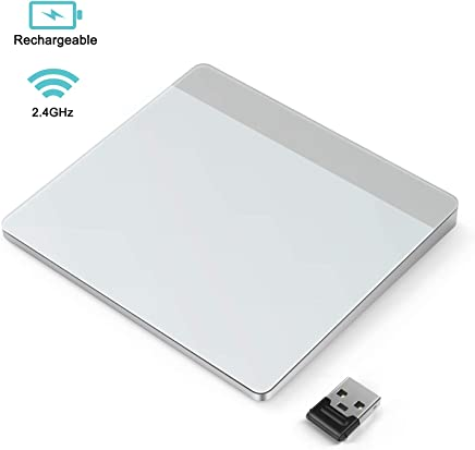 Wireless Trackpad, Jelly Comb 2.4GHz Rechargeable Touchpad with Nano Receiver for Windows 7 and Windows 10 Computer, Notebook, PC, Laptop