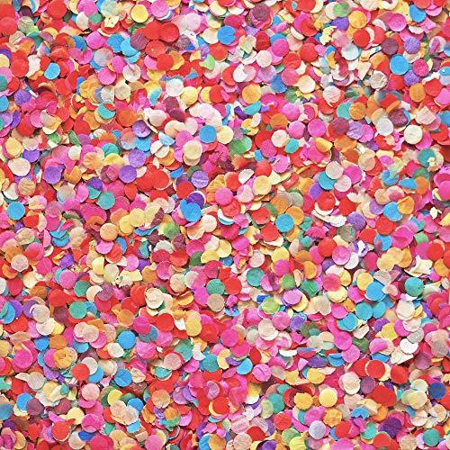 PhiLuMo Party Konfetti/Streudekoration für Karneval & Hochzeit - Mehrfarbig - 500 g im Beutel - Made in Germany