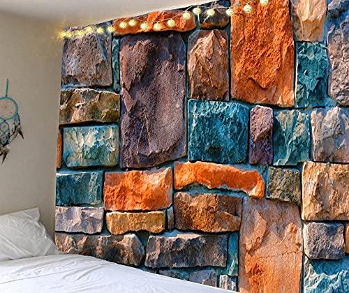 HNFY Mandala Bohemio Tapiz Tarot Psicodélico Colgante de Muro de piedra de color paisaje Pared Celeste Tapices de Pared Indio _100cm*150cm