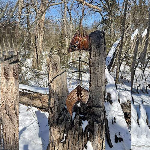 Cacciatore di vento del drago Girandola di vento del drago , Scultura e filatrice del vento appesa al pipistrello , L'arte del cacciatore di sole appeso all'albero (Pesce)