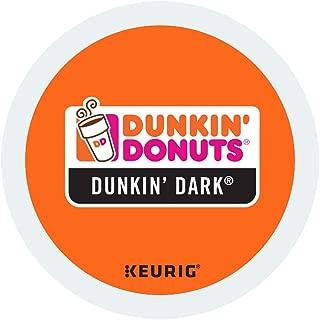 Dunkin' Donuts Hot Bevrage K-Cups (Dark Roast, Six Boxes (72 Pods)