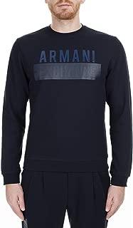 A|X Armani Exchange Men's Pull on Sweatshirt with Big Logo