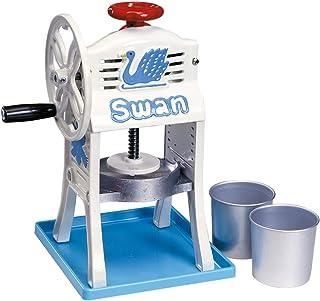池永鉄工 かき氷機 日本製 手動 小さな南極 鋳鉄/氷盤:アルミ スワン FAIE301
