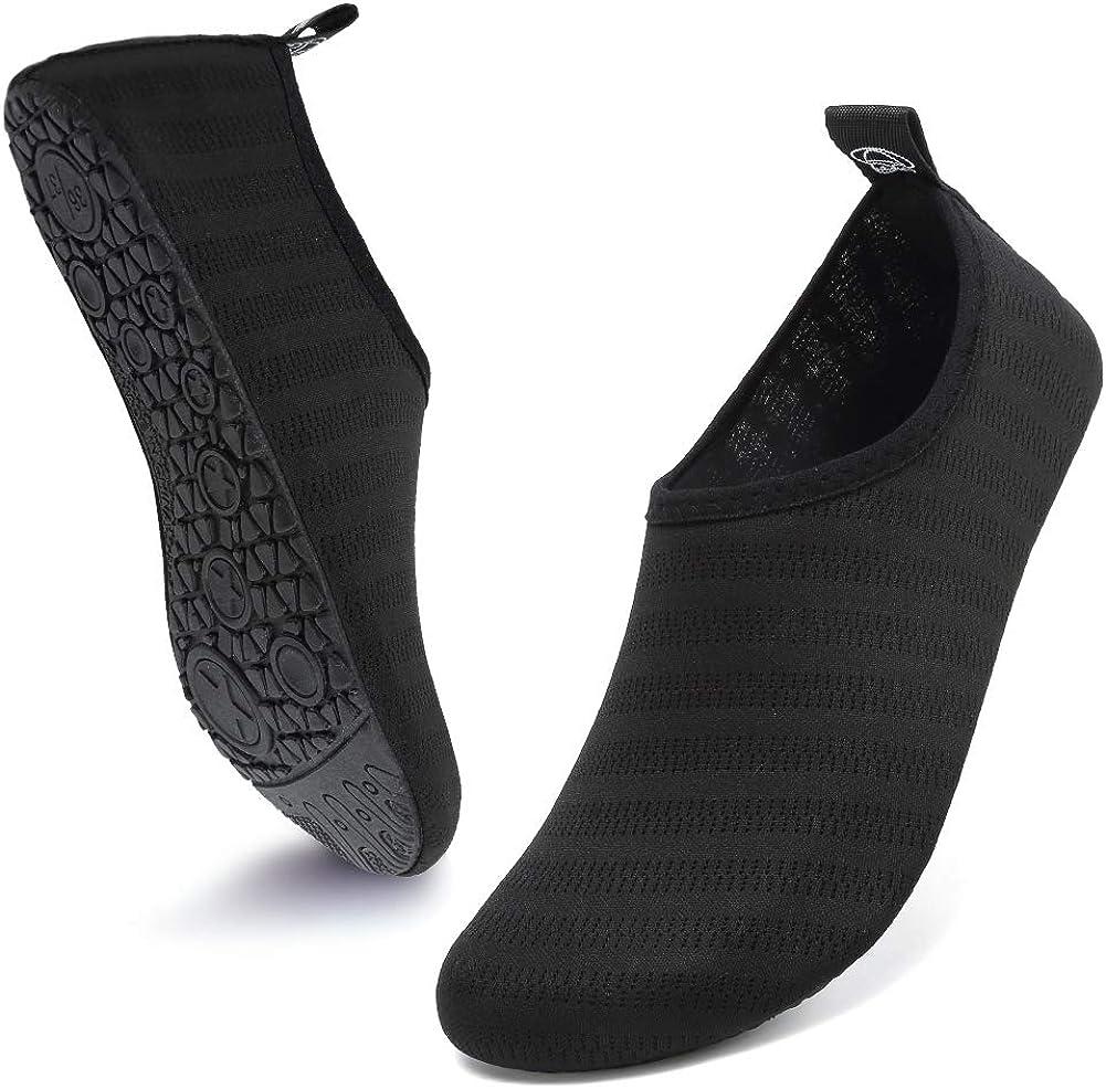 Max 53% Max 41% OFF OFF Deevike Water Shoes for Women Aqua Barefoot Socks Men Quick-Dry