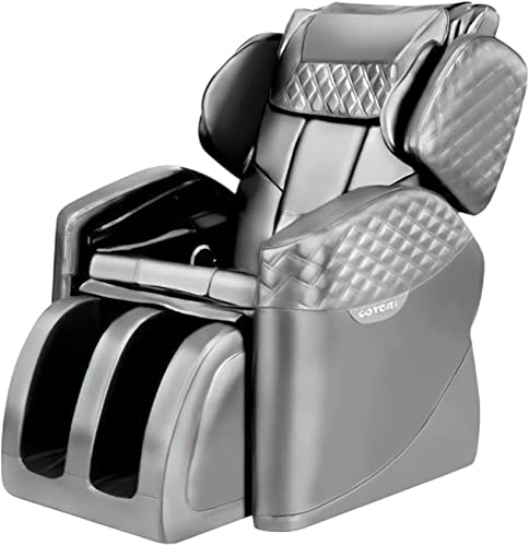 popular Massage Chair,Zero Gravity Electric Massage Chairs outlet online sale Full Body online sale Recliner with Lower-Back Heating and Foot Roller for Living Room Home Office, Light Grey outlet online sale