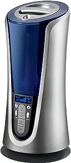 Homedics Warm and Cool Mist Ultrasonic Tower Humidifer - Ultrasonic, Cool Mist, Warm Mist - 1.40 gal Tank - 90 W