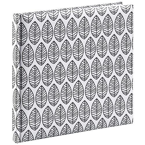 Hama Gästebuch mit Lesezeichen La Fleur (Buch mit 176 leeren weißen Seiten, für Fotos, Notizen,...