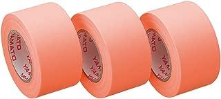 ヤマト 付箋 ロールテープ 詰替え 3巻入 25mm×10m WR-25H-OR3 オレンジ
