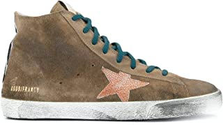 Golden Goose Luxury Fashion Uomo GMF00113F00059715253 Marrone Camoscio Hi Top Sneakers   Stagione Permanente