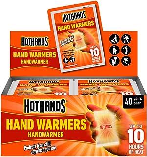 Hot Hands - Calentadores de mano (paquete de 40 unidades)