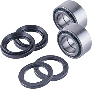 East Lake Axle front wheel bearings & seals kit compatible with Arctic Cat 500/650 1998 1999 2000 2001-2004