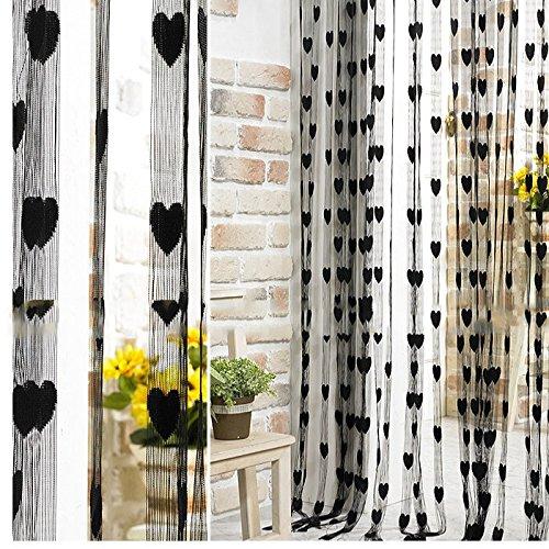 cortinas negras tupidas