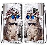 i-Case Etui en PU 360 Protection Full Cuir pour Samsung Galaxy J6 Prime/J6+ Coque Flip Case Housse...