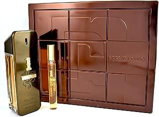 Paco Rabanne 2-Piece 1 Million Prive Gift Set (1 X EDP 3.4 fl oz/ 100 ml, 1 X 0.34 fl oz/EDP 10 ml)
