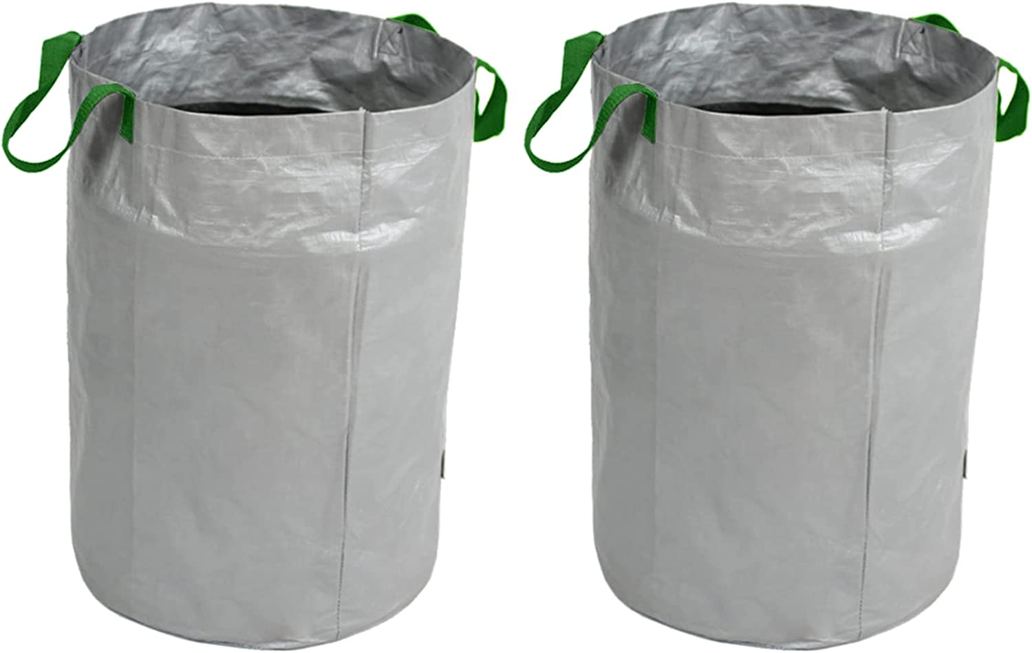 YLSZHY 2 Pack Reusable Garden Louisville-Jefferson County Mall Waste Bags Max 68% OFF Duty Portable Ya Heavy