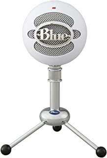 Blue Snowball USB Microphone (Textured White)