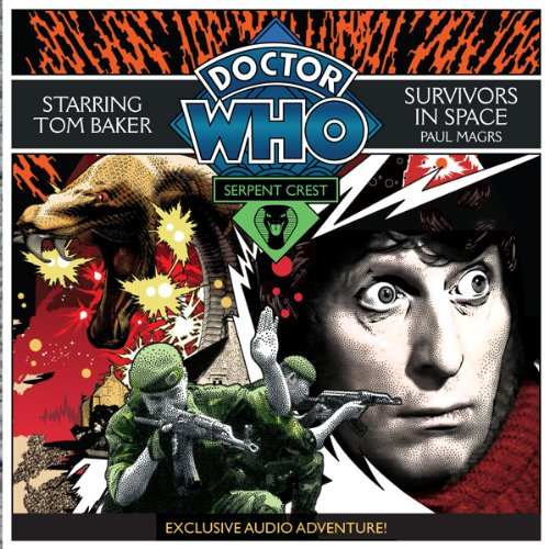 Doctor Who: Serpent Crest Part 5 - Survivors in Space audiobook cover art