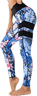Beauty_yoyo Sport Leggings for Women Yoga Printed Gym Pants Tummy Control Outfits Workout Fitness