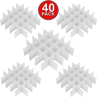 Best plastic storage drawer dividers Reviews