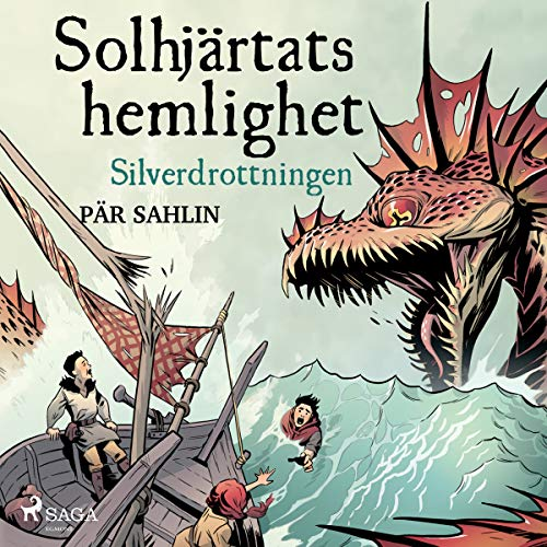 Silverdrottningen audiobook cover art