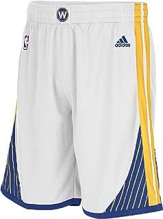 white warriors shorts