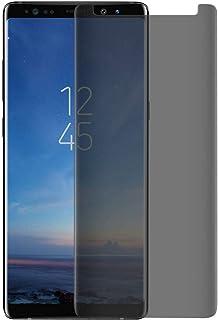شاشة حماية من الزجاج المقوى لهاتف سامسونج جالكسي نوت 9 بحجم رفيع للغاية لحماية خصوصيتك ومضاد للتجسس