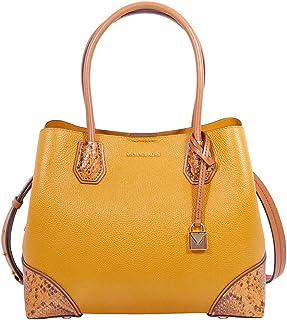 Michael Kors Mercer Gallery Pebbled Leather Shoulder Bag