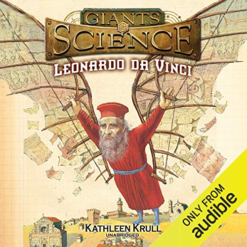 Leonardo Da Vinci audiobook cover art