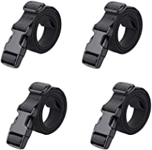 air mattresses Utility straps // cinch lash strap with Quick release buckle by Mt Sun Gear pair sleeping bags Great for backpacking sleeping bags PackYo pair-black 56 x3//4 BootYo!