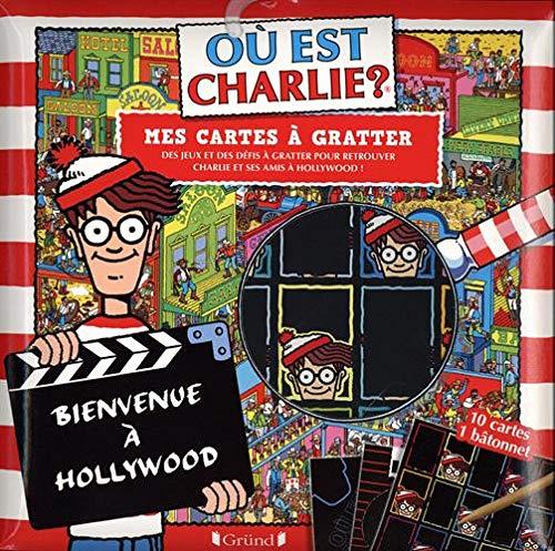 Où est Charlie ? Cartes à gratter Hollywood – Pochette avec 10 cartes à gratter – À partir de 7 ans
