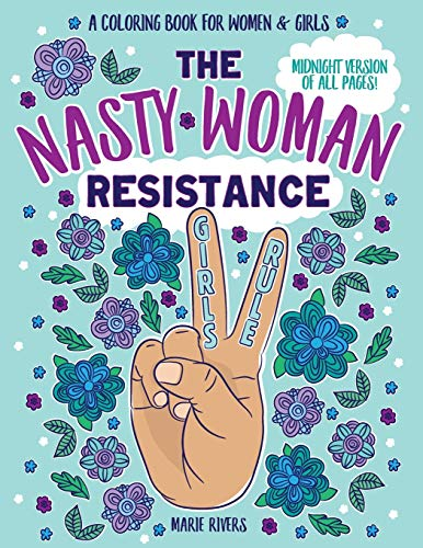 The Nasty Woman Resistance Coloring Book