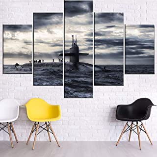 military canvas paintings
