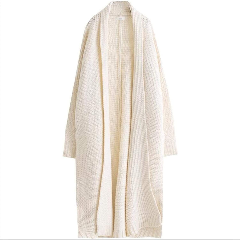 YITTE Women's Casual LongSleeved Knit Fashion Large Size Cardigan