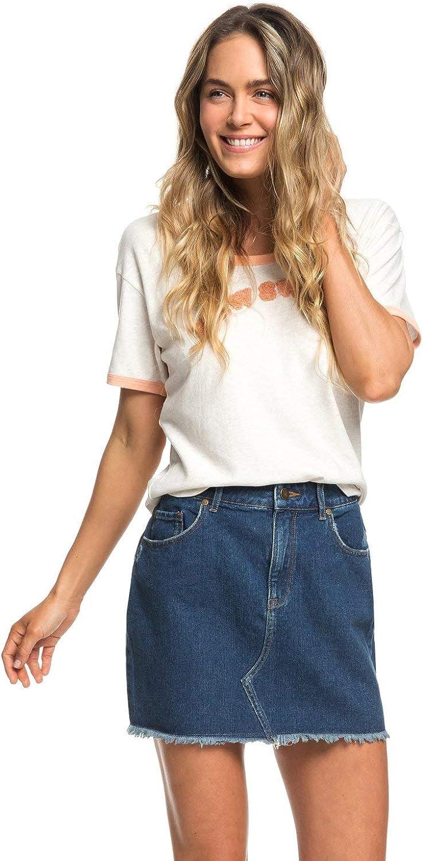 Roxy Bargain Women's Miami Mall Icon Denim Skirt