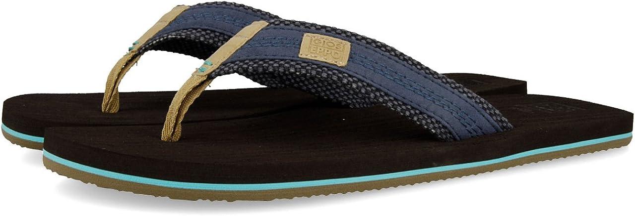 GIOSEPPO Men's 数量限定 海外 Peep Open Sandals Toe