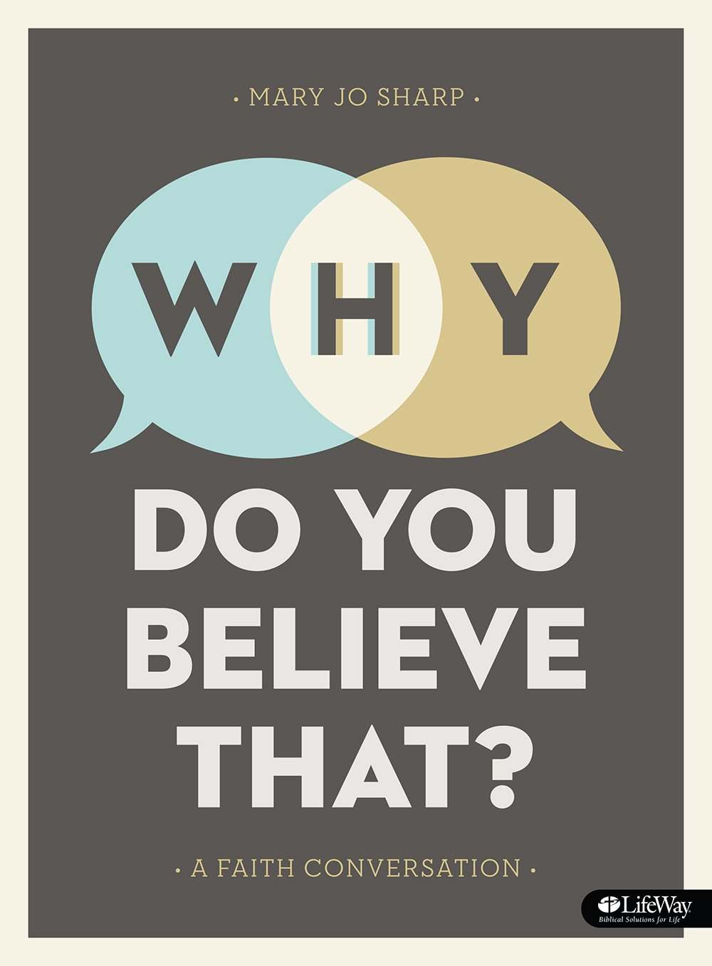Image OfWhy Do You Believe That? - Bible Study Book: A Faith Conversation