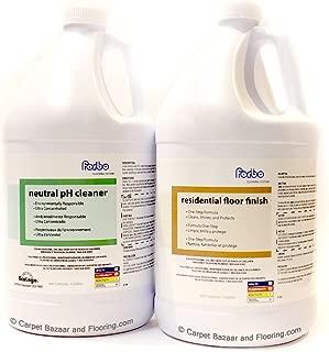 Forbo Marmoleum Linoleum Floor Cleaner (Gallon) and Marmoleum Residential Floor Finish (Gallon)