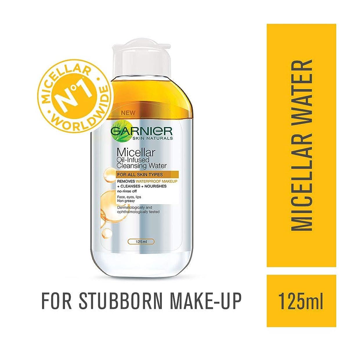 キャンセル現金簡単なGarnier Skin Naturals Micellar Cleansing Bi Phase Water, 125ml