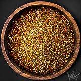 Pizzakräuter Gewürzmischung, 75g, fein geschrotet, frei von künstlichen Zusatzstoffen - Bremer Gewürzhandel